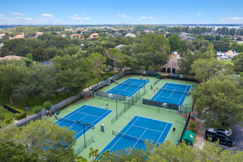 Tennis Courts at the Golden Bear Club